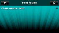 Fixed Volume 100% on Touch